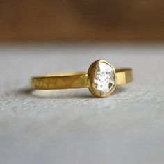 // Sarah Perlis ::: I would accept this as an engagement ring.