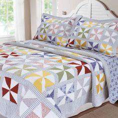 Textiles Plus Inc. Carnival Patchwork Quilt Collection