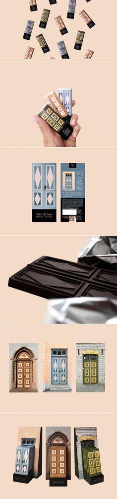 Tallinn Doors Chocolate — The Dieline | Packaging & Branding Design & Innovation News