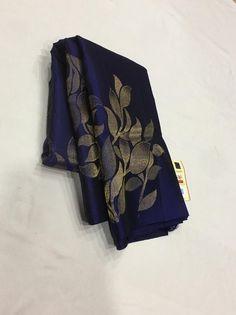 Mysore Silk Saree, Indian Silk Sarees, Tussar Silk Saree, Soft Silk Sarees, Saree Blouse Neck Designs, Saree Blouse Patterns, Designer Blouse Patterns, Design Patterns, Sarees For Girls