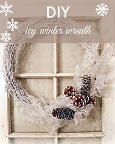 DIY Wreath for Winter | New House New Home New Life