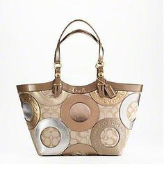 COACH PATCHWORK CARLY TOTE