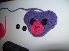 Cats-Rockin-Crochet Fibre Artist.: Crochet Beary Easy, Bear Face Appliqué