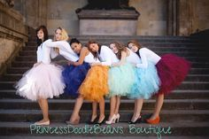 Bella Mode Ballet Style Mid-length Tulle by princessdoodlebeans