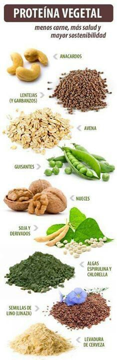 Proteína vegetal!