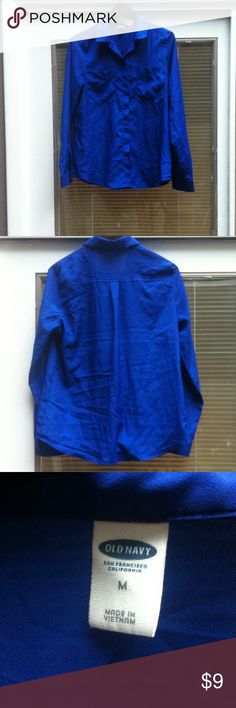 Old Navy Blouse Size M Gently used Old Navy Tops Blouses