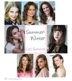 antique winter color analysis | Summer-Winter, Coo lSummer seasonal color celebirity