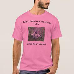 Raccoon Hug, Cardiologist T-Shirt