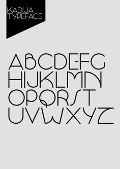 Kadija Typeface