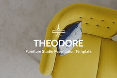 Furniture Studio Presentation by LeMagh on @creativemarket
