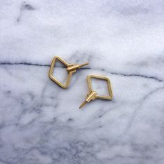 Brass wall hooks