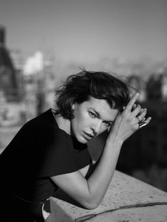 Milla Jovovich, photographed by Annemarieke van Drimmelen for The Edit, Dec 5, 2013.