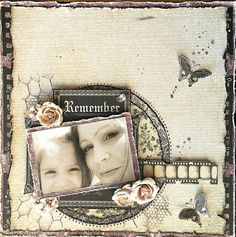 DT project by Rae Moses using the February 2014 kit, Lady Belle. Kaisercraft Art of Life + Maja Design Vintage Autumn no + Authentique Remembrance One+Three Heritage Scrapbooking, Mixed Media Scrapbooking, Digital Scrapbooking, Scrapbooking Ideas, Vintage Scrapbook, Scrapbook Paper, Mini Albums, Smash Book Pages, Picture Layouts
