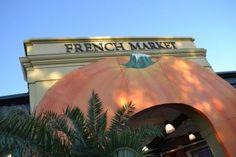 French Market Pumpkin Arch