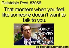 that awkward moment of silence