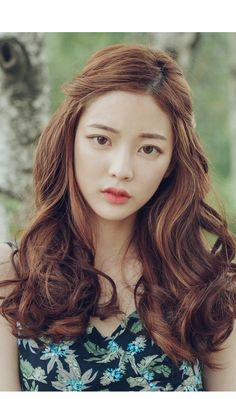 20 Best Korean Curls Ideas Long Hair Styles Hair Styles Asian Hair