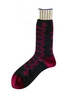 Hh - Mens Socks - Military *Charcoal*