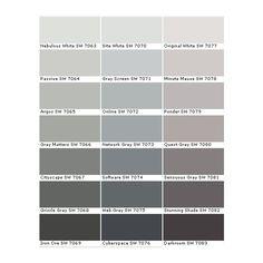 sherwin williams paints sherwin williams colors sherwin williams liked on - Grey Paint Sherwin Williams