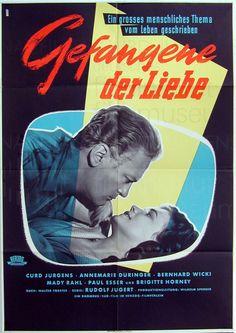 Nachlass Curd Jürgens | GEFANGENE DER LIEBE (1954) Plakat, 2