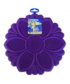 Take a look at this Purple Flower Hot Pad today! $6.29