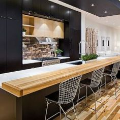 Top 9 Kitchen Design Trends for 2014 and Beyond Just Decorate! Blog black kitchen cupboards