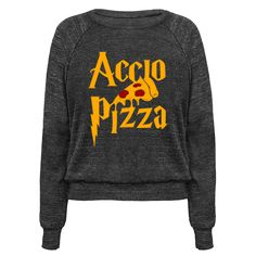 Accio Pizza - Summon something useful with this super nerdy, Harry Potter parody, food lover's, Accio Pizza shirt! Show off your love for pizza AND Harry Potter with something nerdy, movie and food inspired!