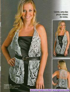 Miren este chaleco…..les gusta? | Mi Rincon de Crochet