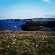 This was my view as I drove down the Loop Head Peninsula to Kilbaha to deliver bags to the very gorgeous Kilbaha Gallery & Craft shop. The road is part of the Wild Atlantic Way, and today it was glorious. Wild Atlantic Way, Craft Shop, Handmade Bags, Scenery, Wildlife, Coast, Bag Making, Gallery, Amazing