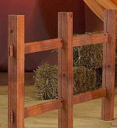 This affordable cardboard split rail fence decoration looks like the real thing!