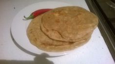 vegfood: Panner paratha/ Wheat bread stuffed with cottage c...
