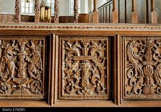 English renaissance woodwork