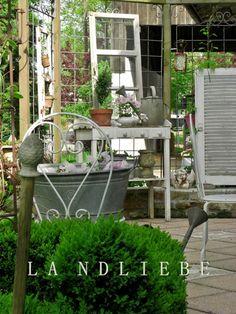 L A N D L I E B E-Cottage-Garden: Gartengrüße