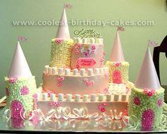 Homemade Princess Cakes | Found on coolest-birthday-cakes.com