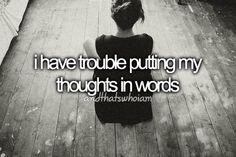 Sometimes :c