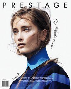 Digital magazine on fashion PRESTAGE #7 The Modernist