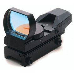 UAG Tactical 4 Reticle Red Dot Open Reflex Sight with Weaver-Picatinny Rail Mount, (reflex sight, red dot, gun scopes, red dot sight, scope, airsoft, dot scope, sight, sights, reflex)