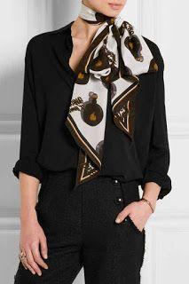 10 formas de usar pañuelo con estilo | Belleza