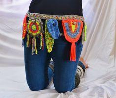 Festival Utility Belt Crochet Pattern  Hooping Hippie Goddess  MAKE ME FOR SUMMER!!!