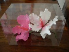 Hibiscus hand crafted in Artista Soft