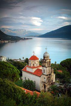 Montenegro, Herceg Novi, Savina monastery