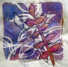 Monoprinting ~ student work | Flickr - Photo Sharing!