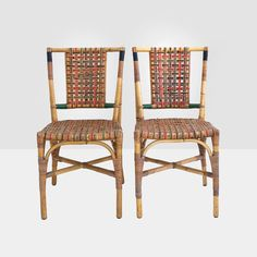sons-cunningham wicker chairs, 1930's wicker dining chairs, bamboo chairs, art deco wicker chairs, sons-cuningham chairs, vintage wicker