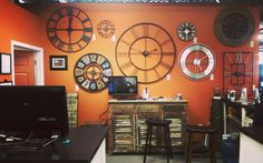 #olyfurnco #clocks #furniture #classy #olympia #Washington #WA #local #smallbusinessspotlight #mymixx96