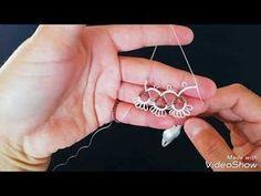 Tatting Lace, Tatting Patterns, Filet Crochet, Baby Knitting Patterns, Needlework, Weaving, Embroidery, Stitch, Youtube