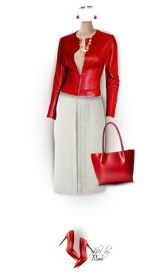"""""""Modern Ms Claus (12.9.16)"""" by stylesbymimi ❤ liked on Polyvore featuring Lanvin, Chanel, Gucci, Chaps, Kenneth Cole, Lodis, shu uemura and modern"""