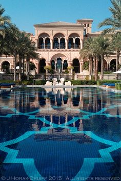 Dubai Houses, Pool Houses, Islamic Architecture, Landscape Architecture, Hotel Concept, Dream Mansion, Mexico Resorts, Swimming Pools Backyard, Interior Exterior