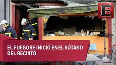 Mueren 13 personas al incendiarse un bar en Francia