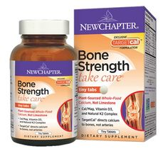 New Chapter Bone Strength Take Care 120 Tabs - Bone Health - Shop by Health Condition - Vitamins, Minerals, Herbs & More