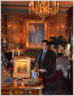 James Andrew in Howard Slatkin's home.