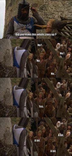 Monty Python - She's a witch!
